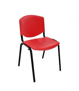 Türksit Form Plastik Sandalye Kirmizi