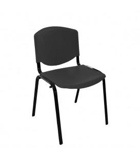 Türksit Form Plastik Sandalye Siyah