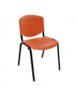 Türksit Form Plastik Sandalye Turuncu