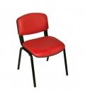 Türksit Form Sandalye Deri 2'li Kırmızı