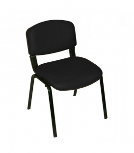 Türksit Form Sandalye Deri 2'li Siyah