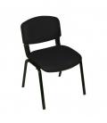 Türksit Form Sandalye Deri Siyah