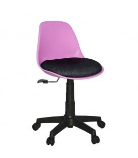 Türksit Çalışma Sandalyesi Plastik Ayak Mavi