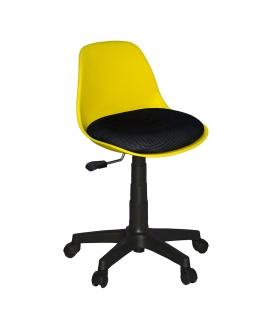 Türksit Çalışma Sandalyesi Plastik Ayak Pembe