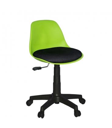 Türksit Çalışma Sandalyesi Plastik Ayak Turuncu