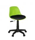 Türksit Çalışma Sandalyesi Plastik Ayak Yeşil