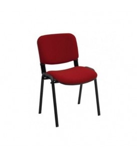 Türksit Form Sandalye 2 Adet Set Bordo - Deri