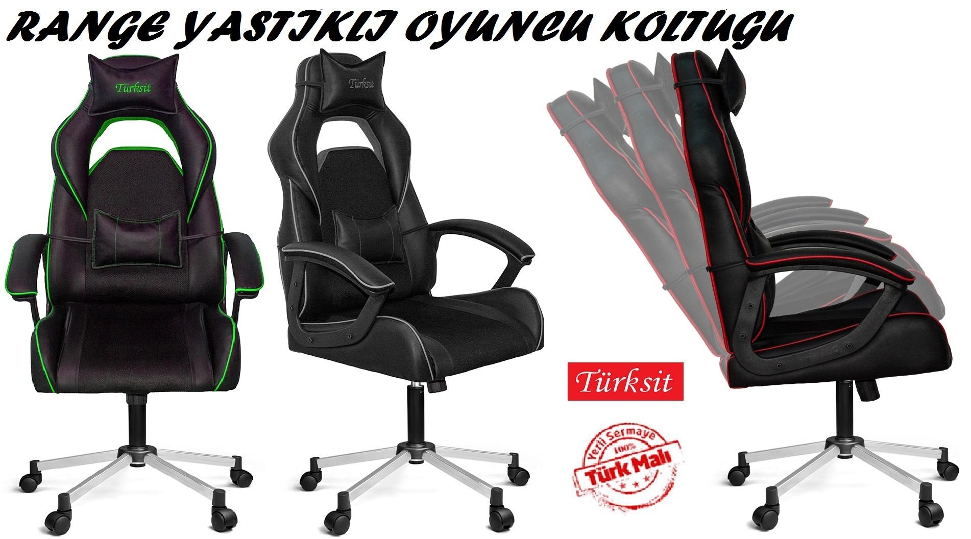 Türksit Range Yönetici ve Oyuncu Koltukları