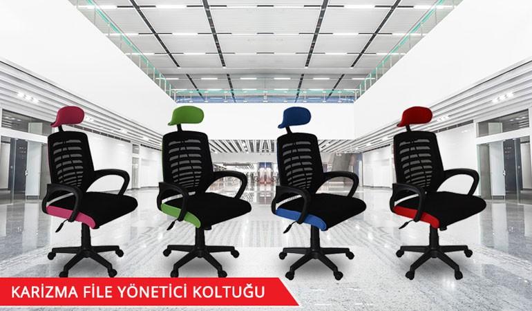 Türksit Karizma File Ofis Koltukları
