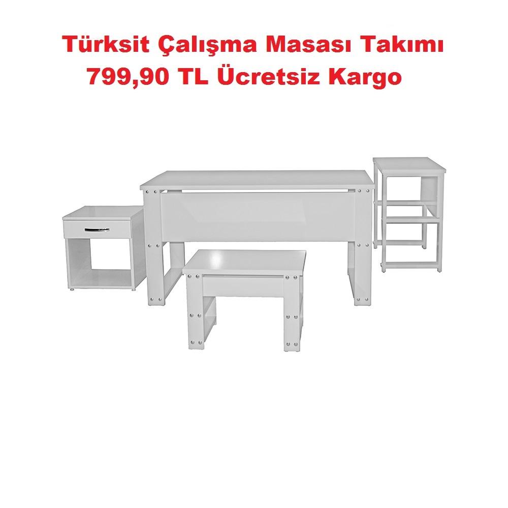 Türksit Çalışma Masası Takımı